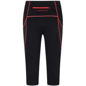 La Sportiva Triumph Tights 3/4 Women, zwart/roze